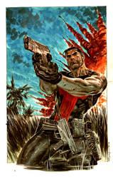 Punisher in Vietnam by ardian-syaf