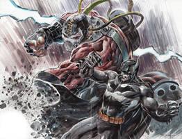 Bane VS Batman by ardian-syaf
