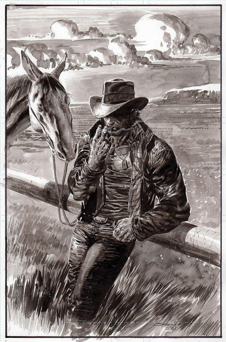 Wolverine Cowboy by ardian-syaf