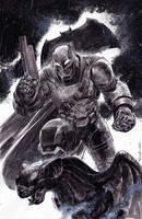 Bat Armor on Gargoyle by ardian-syaf