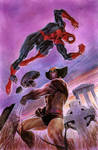 Wolverine VS Spiderman