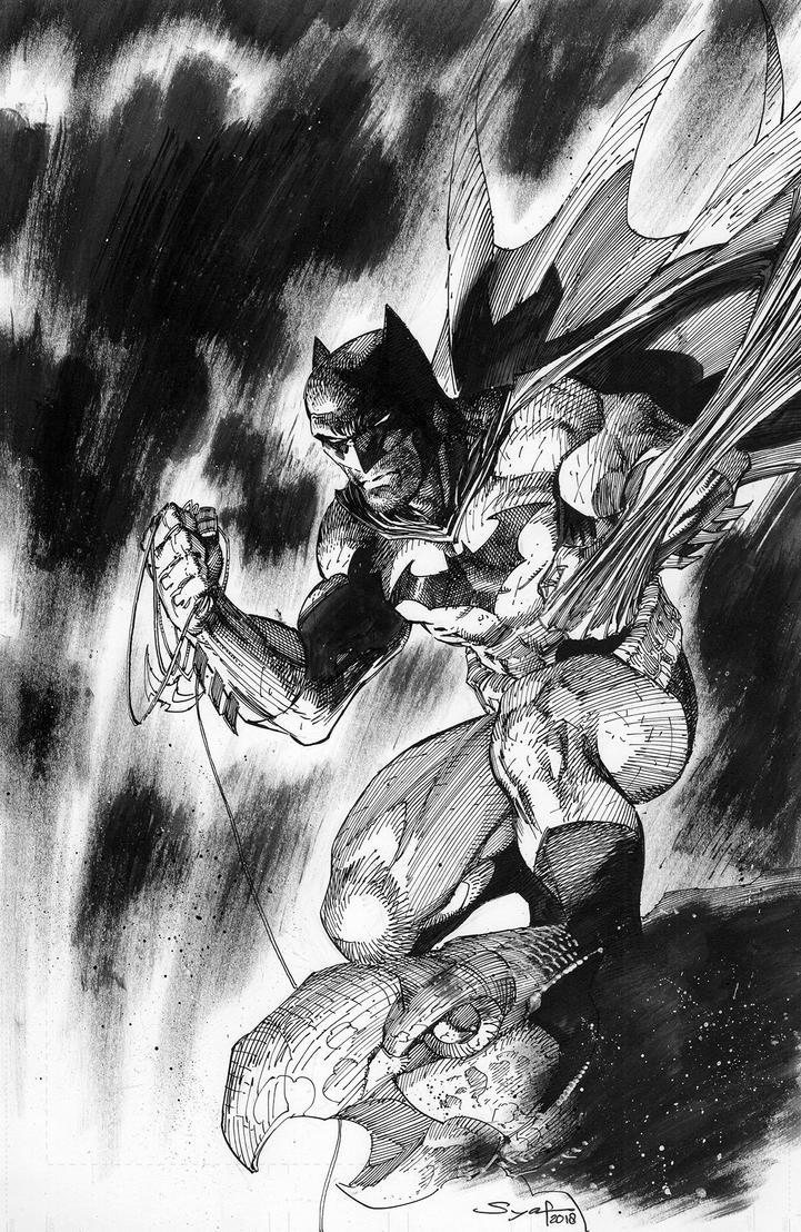 Batman Ink by ardian-syaf