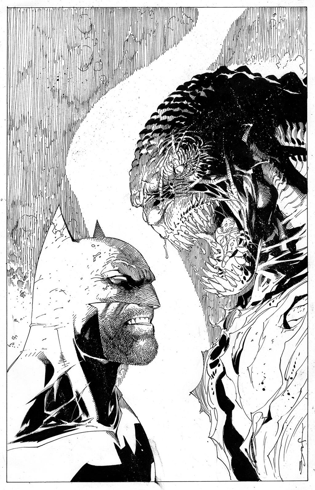 Bat and Croc by ardian-syaf