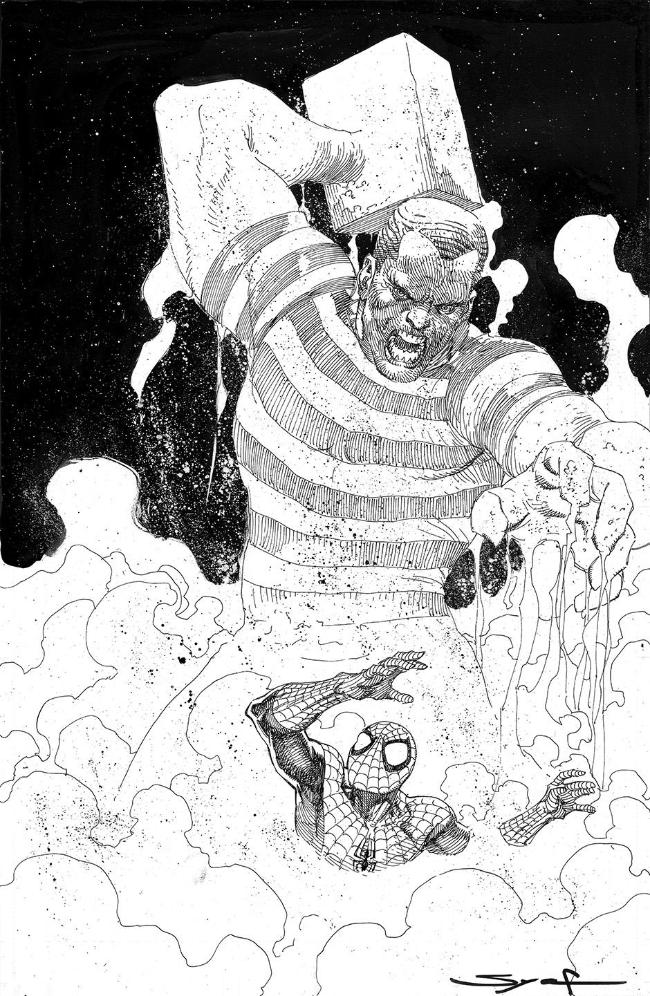 Spider-Man VS Sandman by ardian-syaf