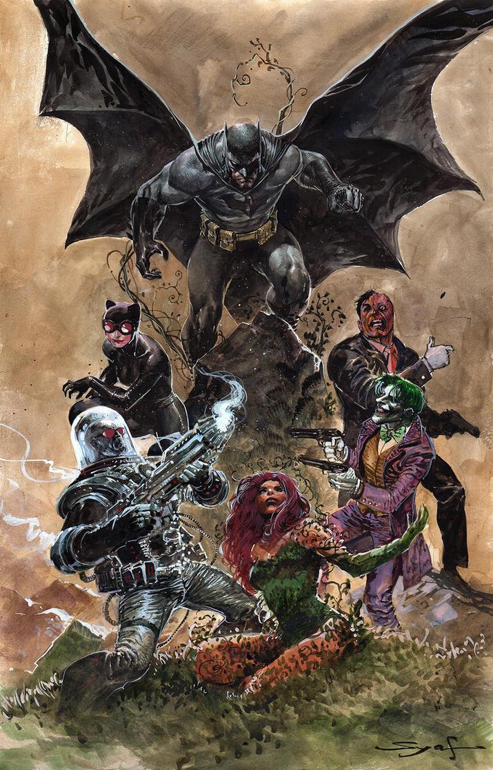 Bat Villains by ardian-syaf