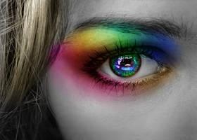 Heaven's dye by Ellybethe