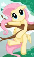 Stuck in a Tree by Ellybethe