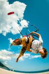 little kitesurfer