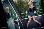 On the balcony by tomislav-moze