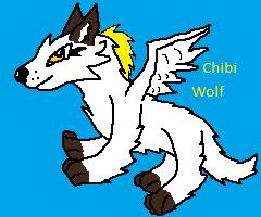 Chibi Wolf AT by TargonTrigon