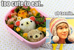 Taemin VS. Food Macro:.Which is Cuter?.: