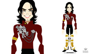 MICHAEL JACKSON MTV by nicotronick