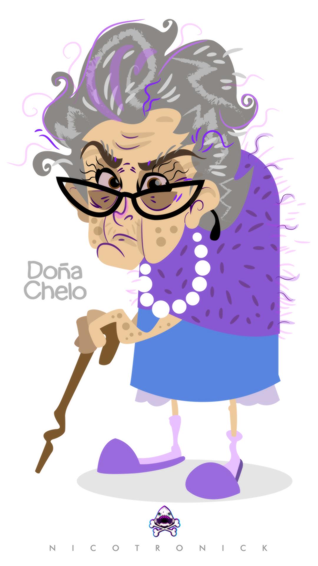 Dona Chelo Nicotronick by nicotronick