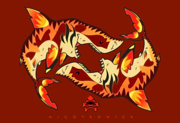 NICOTRONICK SHARK SHARK by nicotronick