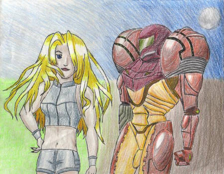 Samus and Power Suit