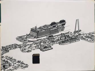 Atacamean harbour - WIP
