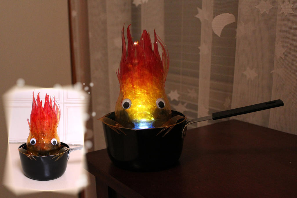 Calcifer the fire demon by KAkkoiITO