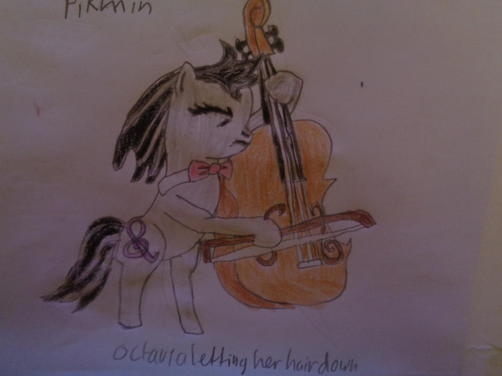 Octavia letting her hair down by woodywoodwood