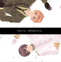 [MMD APH] AsaKiku - Sarishinohara...?