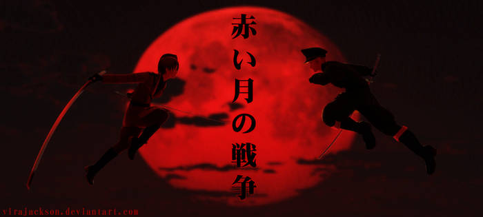 [MMD APH] The Red Moon War