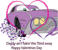 Valentines_TBird by theantilove