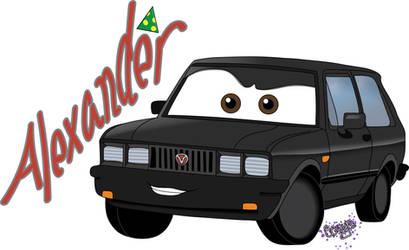 Alexander_Hugo...Cars 2 by theantilove