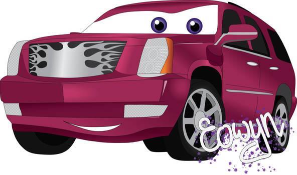 Pink Cadillac...The Boss