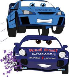 Cars OC...Matt and Maddie