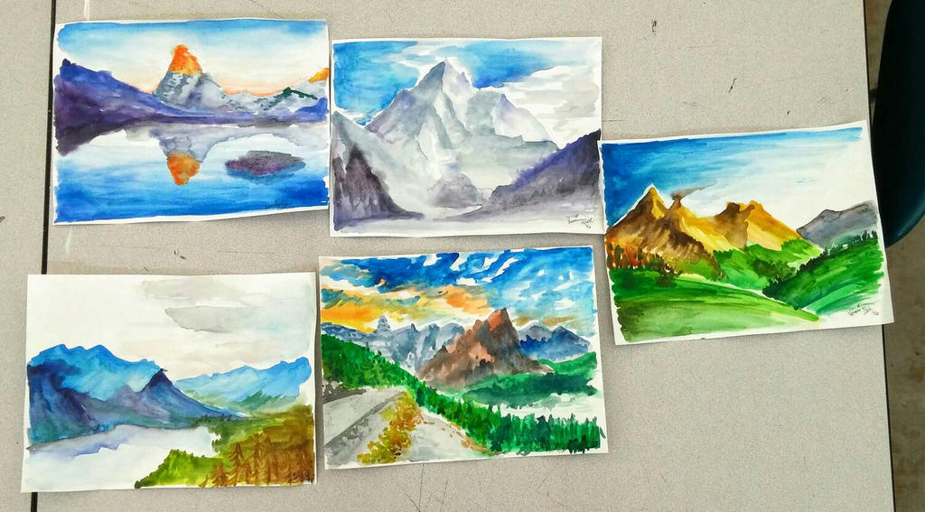 Mountains by lunedragonfly
