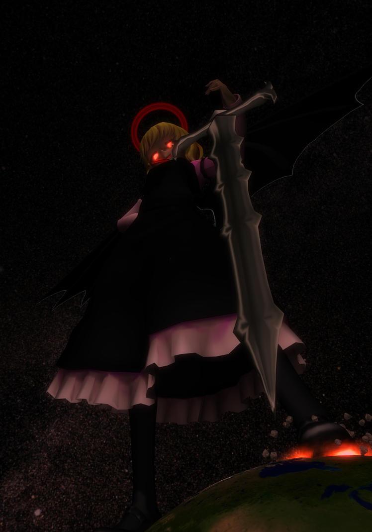 Ex-Rumia: Goddess of Darkness by Koirvon
