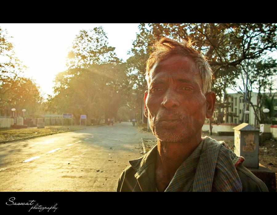 A rickshaw puller's story by Saswat777