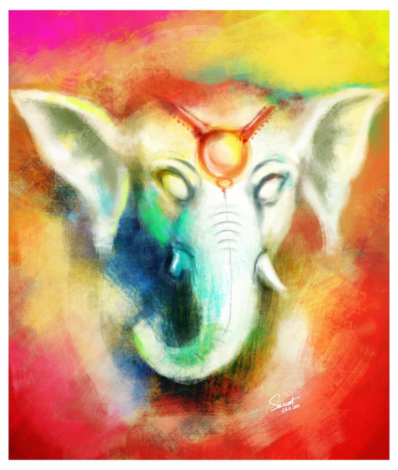 Ganesha by Saswat777