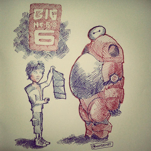 Big Hero 6 by Saswat777