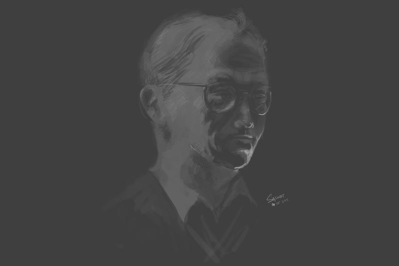 P023 Experimental Portrait by Saswat777