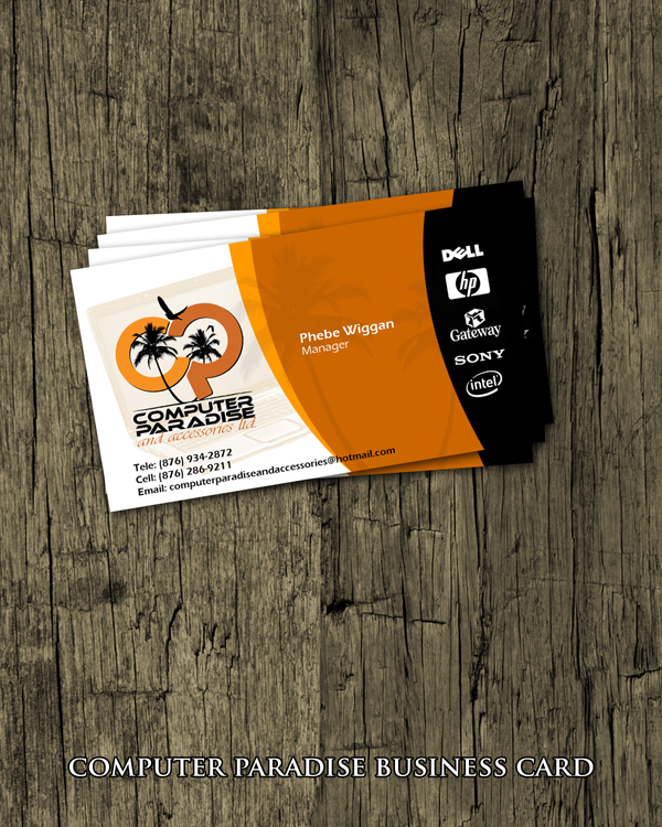 CP Ltd. Business Card by artladz