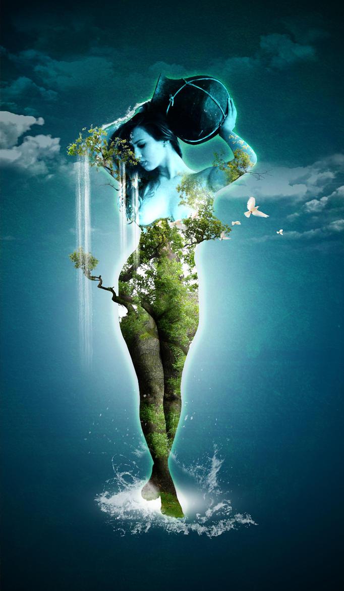 WaterGirl by artladz