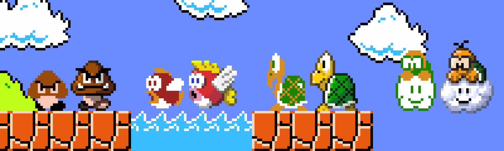 Mario Enemies Rework