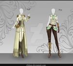 [Closed] Adoptable Outfit Auction #38-39