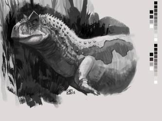 Carnotaurus Sketch