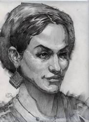 Portrait - Watts Atelier monthly skill challenge