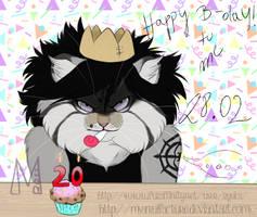 Birthday tommorrow by Lynxurious