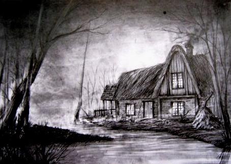 Vysogota's house. witcher by olkaf