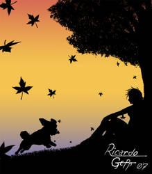 Sundow Silhouete by GeppZ