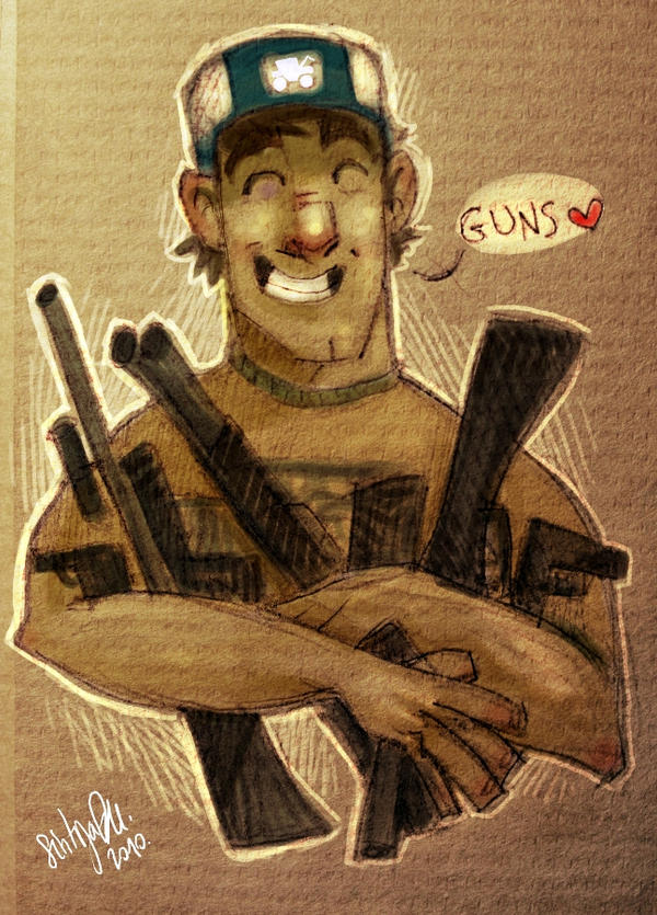 Guns by SIIINS