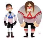hockey character concepts