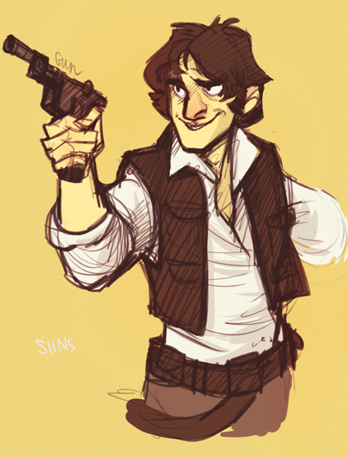 Han Solo by SIIINS