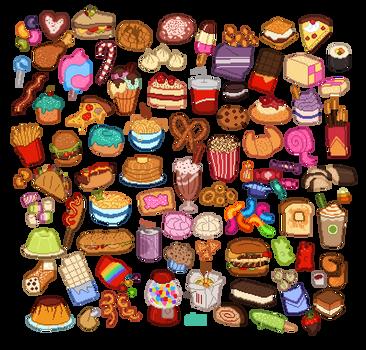 cute food by SIIINS