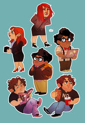 IT Crowd by SIIINS