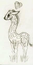 Loving Giraffe by KensanOni
