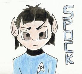 Spock by KensanOni